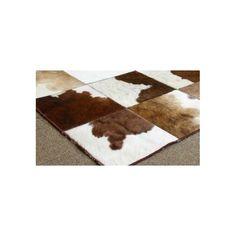 alfombra patchwork piel PW09 | Tiendas On