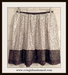 COWGIRL GLAM SKIRT Silver and Black Sequin Full Designer Mini Skirt #SKIRT #SEQUIN #SEQUINSKIRT #HOLIDAYAPPAREL #PARTYSKIRT #MINISKIRT #PARTY #CLUB #HOLIDAY #FULLSKIRT #MINISKIRT #COWGIRL #CLOTHING #BOUTIQUE #FASHION #BEAUTIFUL #ONLINESHOPPING
