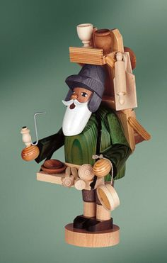 KWO Wood Vendor German Christmas Incense Smoker Handcrafted in Germany New Christmas Lights, Christmas Holidays, Christmas Crafts, Christmas Ornaments, Christmas In Germany, German Christmas, Wooden Art, Wooden Bowls, German Nutcrackers