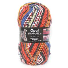 1*100g ball Opal Sock Yarn 75% wool, 25% polyamide/ Nylon Winter 4 ply socks knitting yarn Knitting Socks, Knitted Hats, Cheap Yarn, 4 Ply Yarn, Sock Yarn, Winter Hats, Wool, How To Make, Stuff To Buy
