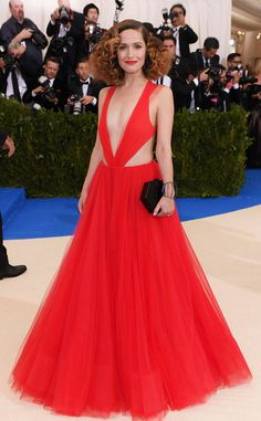 Rose Byrne from Met Gala 2017: Best Dressed Stars  How major is the top of Rose's Ralph Lauren dress?