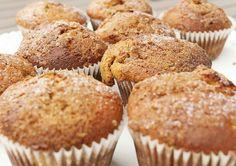 Rebarboro-skořicové muffiny