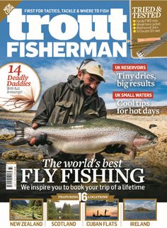In this issue of Trout Fisherman: Set ups for July Beginner lake skills Airflo's latest floating line Shark on fly Where to fish Inside this issue of trout fisherman: Get in the zones find the buzzer beds at your water. Sea Angling, Fishing Magazines, Portfolio Covers, Types Of Fish, Carp Fishing, A Decade, Hot Days, Trout, Shark