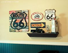Love Of Family & Home: Route 66 Nursery & Gallery Wall.....