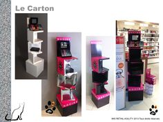 PLV cubes ouverts / make up