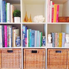 Bookshelves - One Room Challenge Week Three- The Glam Pad