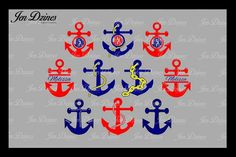 Anchor SVG DXF EPS PNG from DesignBundles.net