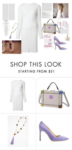 """""""Box Bag"""" by gloria-3789 ❤ liked on Polyvore featuring The Elder Statesman, Manolo Blahnik, Tom Ford and Balmain"""