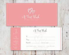 Custom Gift Certificate - custom gift certificate design, bridal boutique