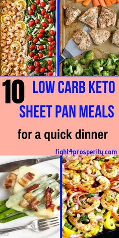 10 Low Carb keto sheet pan for quick dinner or if you're on a budget. These keto dinner meals are easy to do and in can be ready in 30 minutes. Everything is done in one pan. This keto low carb sheet pan meals is for anyone who is looking for quick meal p Keto Foods, 7 Keto, Keto Diet Meals, Low Carb Recipes, Diet Recipes, Cheap Recipes, Healthy Recipes, Diet Tips, Chicken Recipes