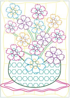 Welcome To Dover Publications Creative Haven Fabulous Flowers Designs With A Splash Of Color Adult ColoringColoring