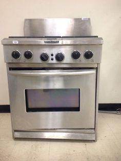 KITCHEN AID KITCHEN AID BRAND, STAINLESS STEEL STOVE