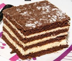 Csányi mézes Hungarian Desserts, Hungarian Cake, Hungarian Recipes, Cookie Recipes, Dessert Recipes, French Patisserie, Sweet And Salty, Creative Food, Just Desserts