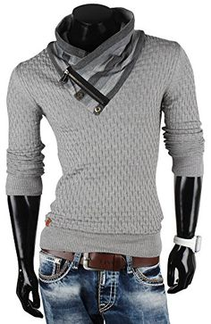 Redbridge pull-over pour homme en tricot sweat-shirt en tricot