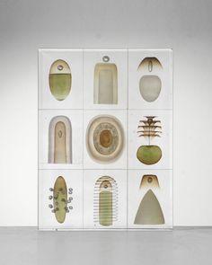 Steffen Dam - Glass artist. Specimen Block. 2011.