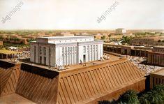 Uruk, White Temple, Dedicated to the Sumerian Sky God Anu, 3200 BC