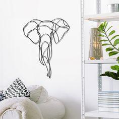 Mini Elephant Trophy | Pro-Wildlife Wall Art | Hu2.com