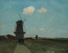 Jan Hendrik Weissenbruch Light Painting, Painting Frames, Dutch Painters, The Hague, Painting Lessons, Mole, Art Studios, Landscape Art, Art History