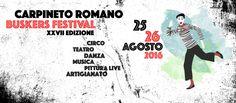 Sta per cominciare il XXVII Busker Festival a Carpineto Romano: aiutaci a sostenere il festival con la nostra campagna crowdfunding!
