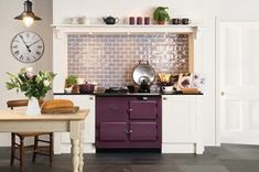 From the Residence range of glossy tiles and mouldings by The Winchester Tile Company. There's plenty to choose from in this range: field tiles, half tiles, (. Metro Tiles Kitchen, Kitchen Wall Tiles, Kitchen Wallpaper, Backsplash Tile, Winchester, Range Cooker, Style Tile, Splashback, Trends