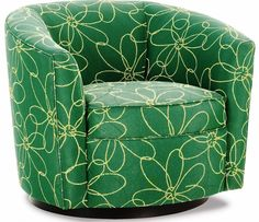 Marvelous Modern Barrel Chair Slipcovers Ideas : Choosing Best Chair Slipcovers  Design : Lovely Green Curved Armchair