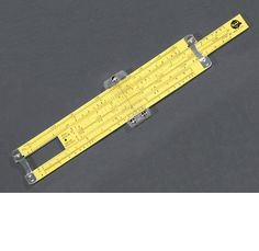 We went to the moon with slide rules. Heard that one before? Though in fact all of the Apollo spacecraft carried digital computers, the simple fact remains true: We went to the moon with slide rules.  Just like this one. (link)