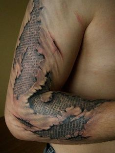 If it comes to sleeve tattoos, there are lots of tattoo styles which may be used. As soon as you have 1 or two tattoos which is good if it's on the sleeve 3d Tattoos For Men, Half Sleeve Tattoos For Guys, Half Sleeve Tattoos Designs, Weird Tattoos, Cool Tattoos For Guys, Best Sleeve Tattoos, Tattoo Designs Men, Body Art Tattoos, Hand Tattoos