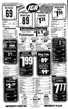 VIMCO Ad, Viviano Macaroni, July 23, 1980, Centre Daily Times, State College, PA, pg 16. Six years before Borden bought out Vimco and numerous other family owned macaroni businesses.