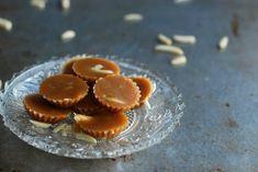 Toffee, no sugar added - Knäck utan tillsatt socker //Baka Sockerfritt