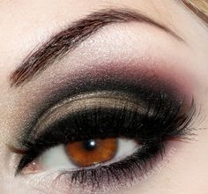 Beautiful dark eyes