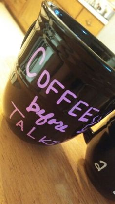 Coffee before talkie mug only $10!! Diy mug Contact me Also on Facebook.com/okccwest