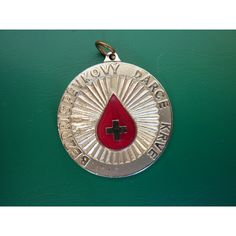 Czechoslovakia - a plaque of honor blood donor