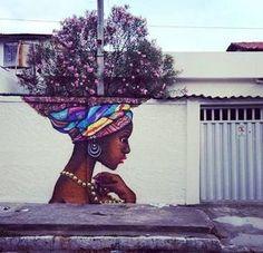 Fotos mostram arte urbana que interage com a natureza