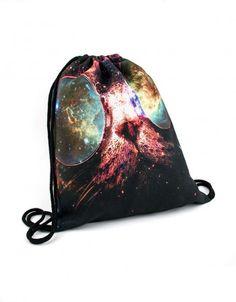 Plecak Kosmos w Okularach #paniKOTA #koty #kociara #kocierzeczy #motywkota #worek #plecak #worekwf