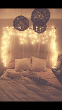 the lights make any room so much more cozy