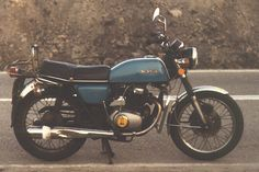 1976 Honda CB200. Its just my size.