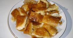 Bougatsa me Krema - Creamy Custard Phyllo Pastry - Aussie Taste Recipes Recipe Box, European Breakfast, Longest Recipe, Breakfast Pastries, Food Tasting, Love Food, Favorite Recipes, Snacks, Kitchens