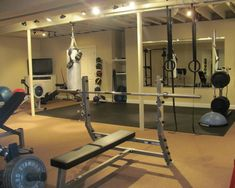 Best basement gym ideas images in basement remodeling