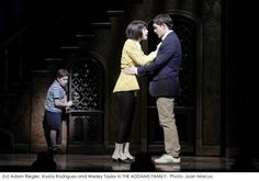 addams musical set | Snap Snap! The Addams Family Starring Nathan Lane and Bebe Neuwirth ...
