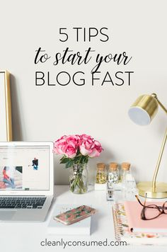 5 Quick Tips and Links for Resources that help you get started FAST!