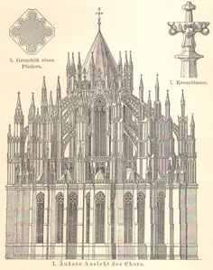 1905 Cologne Cathedral Hohe Domkirche St by CabinetOfTreasures
