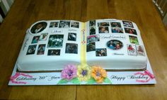 Madeline's 80th Birthday Cake. Photo: This Photo was uploaded by peggysue1210. Find other Madeline's 80th Birthday Cake. pictures and photos or upload y...