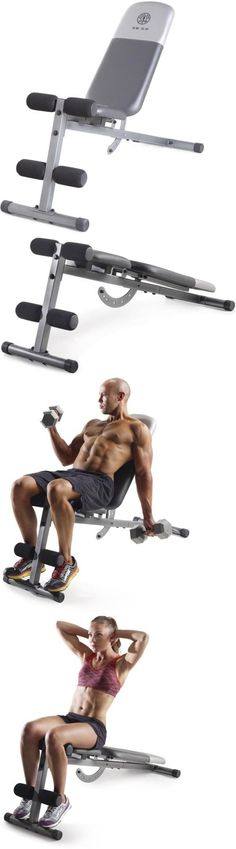Weight Sets 179818: Gold S Gym Xr 5.9 Bench, Chiseled Abs, Powerful Core, Utility Weight Bench, Home -> BUY IT NOW ONLY: $70.77 on eBay!