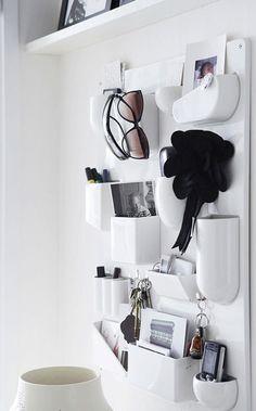 Uten Silo Wall Organizer by Vitra Home Office, Office Decor, Vide Poche Design, How Do I Live, Mini Loft, Wall Organization, Deco Design, My New Room, Home Interior