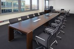Attiva and his versions, in this Polish office fit perfectly in the boardroom. #italianchairs