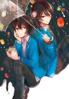 Ritsu & Rei | Ensemble Stars!