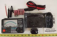 Electrical Testers 126406: Analog Megohm Insulation Voltage Tester Sperry 3322A New -> BUY IT NOW ONLY: $275 on eBay!