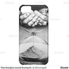 #Time #hourglass #surreal drawing #iPhone 5C #case