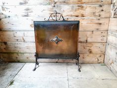 Your place to buy and sell all things handmade Art Nouveau, Copper Art, Vintage Items, Arts And Crafts, Fire, Etsy, This Or That Questions, Antiques, Baby Born