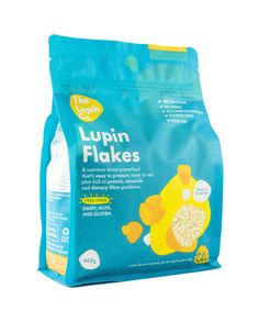 Lupin Flakes - Gluten free, low carb, high in minerals Flake Recipes, Flakes, Packaging Design, Protein, Gluten Free, Tasty, The Incredibles, Minerals, Clever